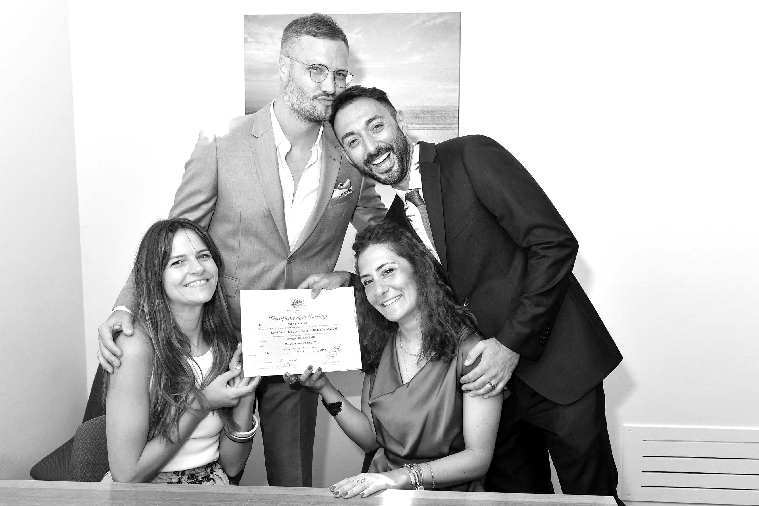 Same Sex Marriage Wedding Certificate