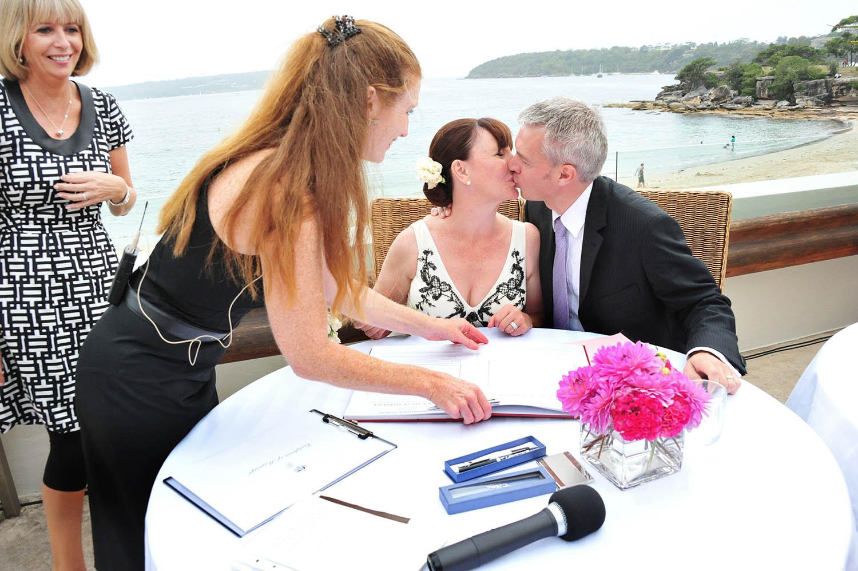 Kissing Ceremony